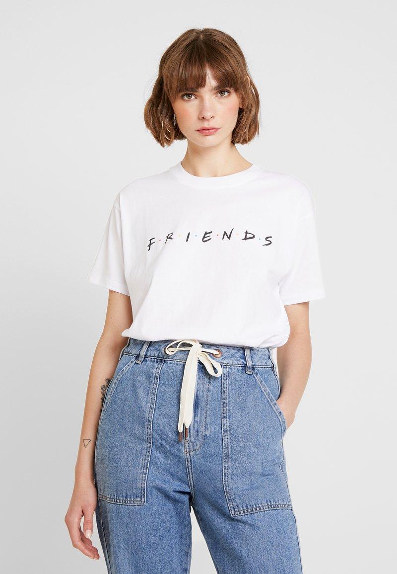 Revival Tee - FRIENDS TEE - T-shirt print - white