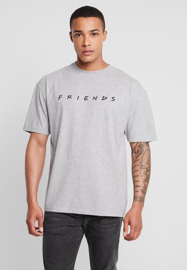 FRIENDS - T-shirts print - grey marl