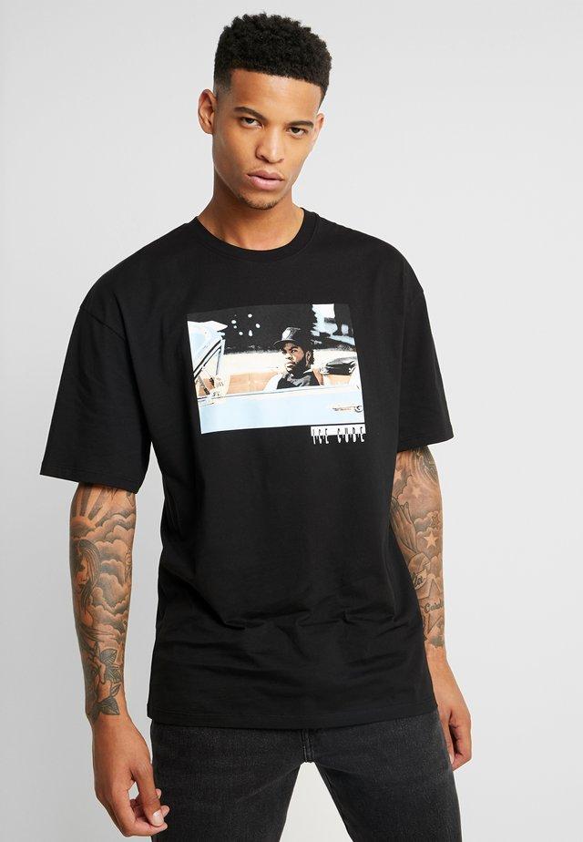 ICE CUBE - Print T-shirt - black
