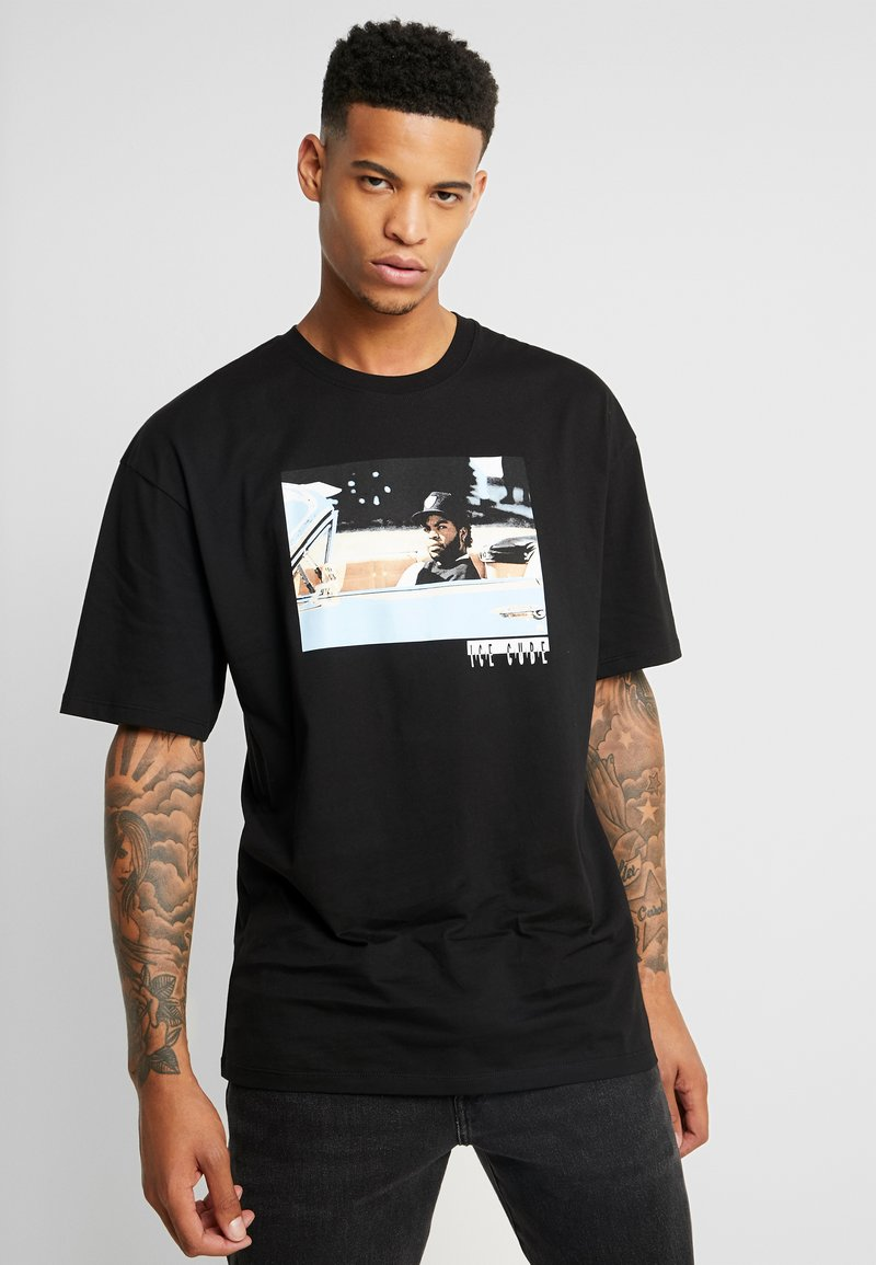 Revival Tee - ICE CUBE - T-shirt con stampa - black