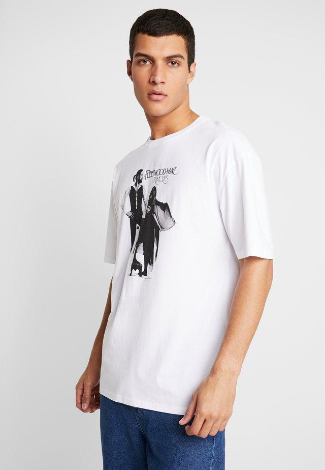 FLEETWOODMAC - T-shirt med print - white no wash