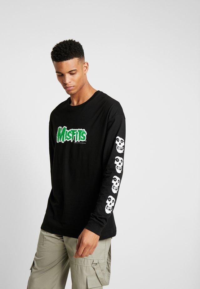 MISFITS - Langærmede T-shirts - black