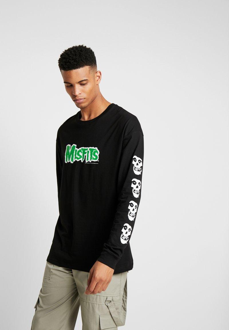 Revival Tee - MISFITS - Bluzka z długim rękawem - black