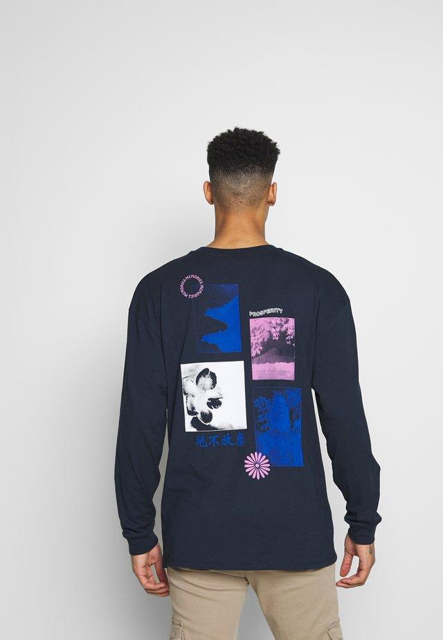 PROSPERITY  - Langærmede T-shirts - navy