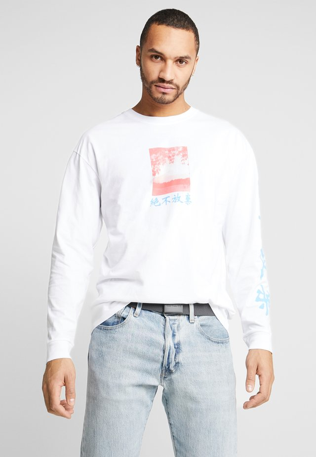 JAPAN  - Long sleeved top - white
