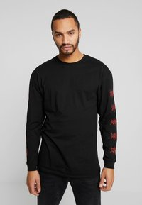 Revival Tee - RED FLAME - T-shirt à manches longues - black - 2