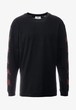 RED FLAME - Long sleeved top - black