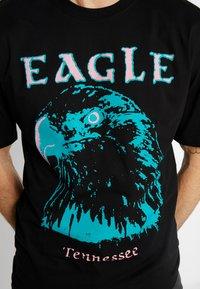 Revival Tee - EAGLE TEE - Camiseta estampada - black - 4