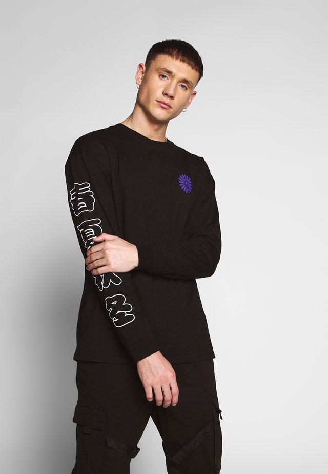 OSAKA - Bluzka z długim rękawem - black