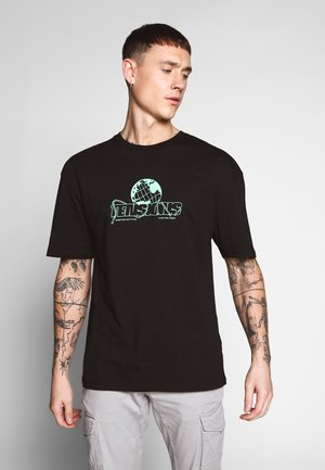 TENSIONS - Print T-shirt - black