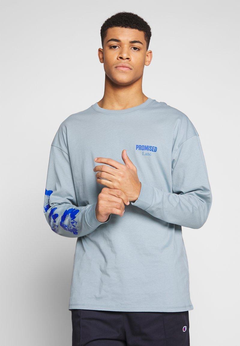 Revival Tee - PROMISED LAND  - Langærmede T-shirts - blue
