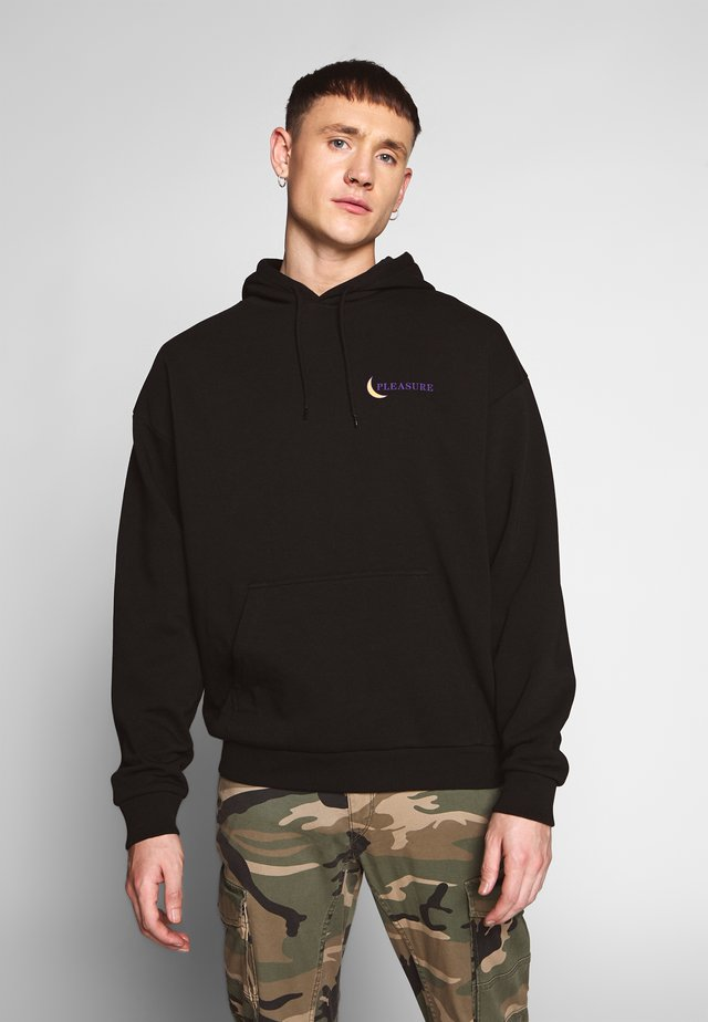 PLEASURE HOODIE - Bluza z kapturem - black