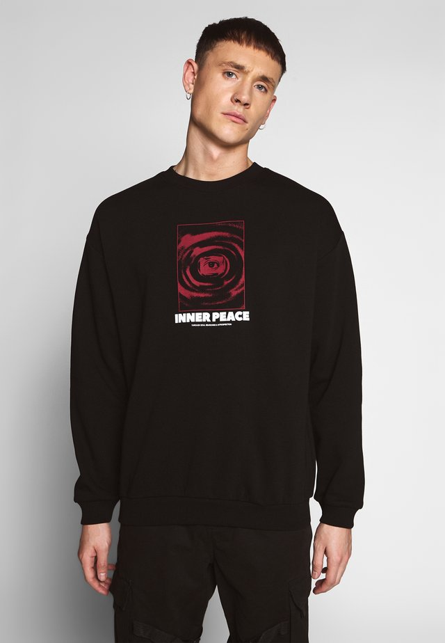 INNER PEACE - Sweatshirt - black