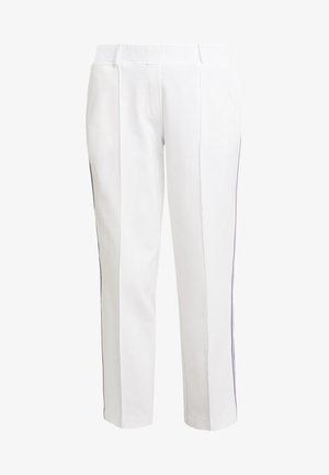 PANTS WITH STRIPE DETAIL - Træningsbukser - off white