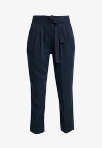 Re.draft - CROPPED PANTS - Trousers - navy - 4