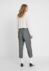 Re.draft - CROPPED PANTS - Trousers - olive/khaki - 2