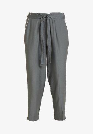 CROPPED PANTS - Pantaloni - olive/khaki