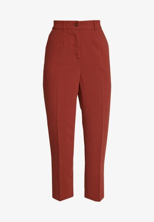 FORMAL PANTS - Pantaloni - toffee