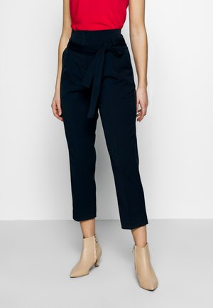 CITY PANTS WITH BELT - Trousers - summer night