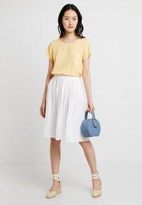 Re.draft - SKIRT - A-line skirt - white - 1