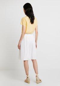 Re.draft - SKIRT - A-line skirt - white - 2