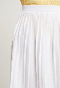 Re.draft - SKIRT - A-line skirt - white - 4