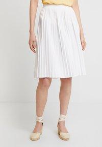 Re.draft - SKIRT - A-line skirt - white - 0