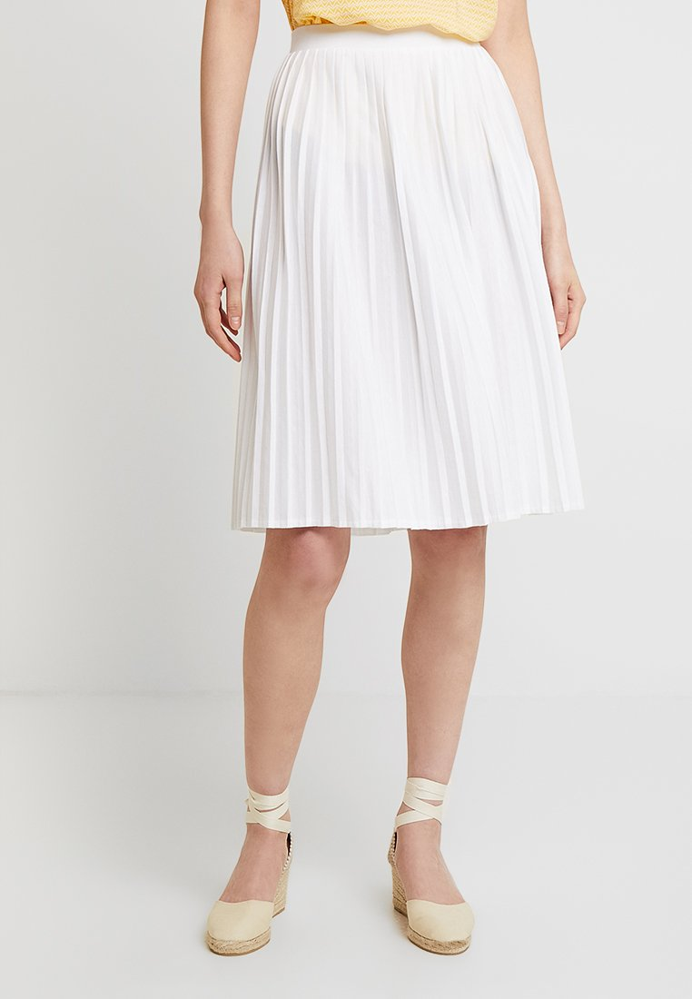Re.draft - SKIRT - A-line skirt - white