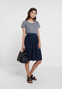 Re.draft - SKIRT - A-line skirt - navy - 1