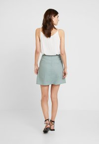 Re.draft - SKIRT WITH BUTTONS - A-line skirt - faded olive - 2
