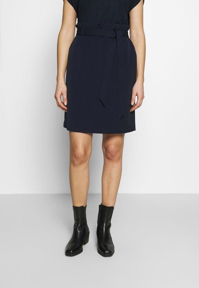 PAPERBAG SKIRT - Mini skirt - summer night