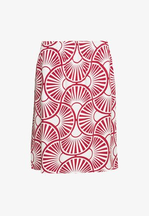 EASY SKIRT CIRCLE - A-linjainen hame - peonies