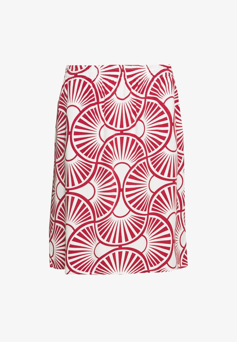 Re.draft - EASY SKIRT CIRCLE - A-linjainen hame - peonies