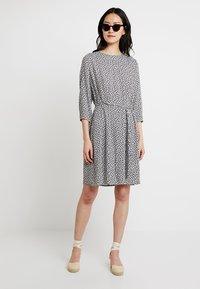 Re.draft - MILLEFLEUR DRESS - Day dress - navy - 1