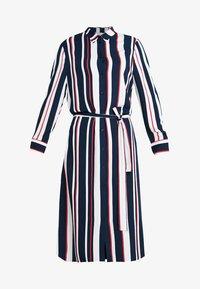 Re.draft - STRIPED DRESS WITH BELT - Shirt dress - dark blue - 6