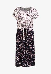 Re.draft - PRINT MIX DRESS - Day dress - navy - 4