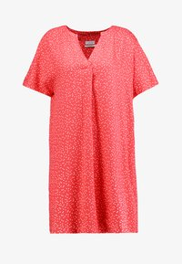 Re.draft - DRESS WITH PLEAT - Day dress - flame - 6