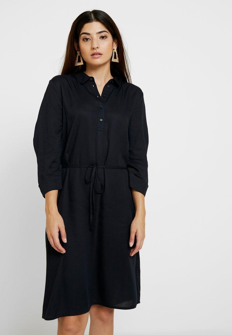 Re.draft - BLOUSE DRESS - Shirt dress - dark navy