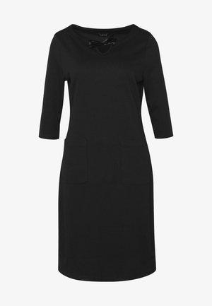 COZY DRESS - Vestido informal - black