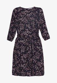 Re.draft - PRINTED FLOWER DRESS - Day dress - black - 4
