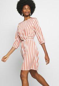 Re.draft - STRIPED DRESS - Day dress - white - 4
