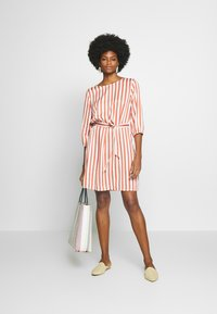 Re.draft - STRIPED DRESS - Day dress - white - 1