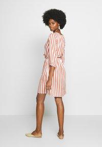Re.draft - STRIPED DRESS - Day dress - white - 2