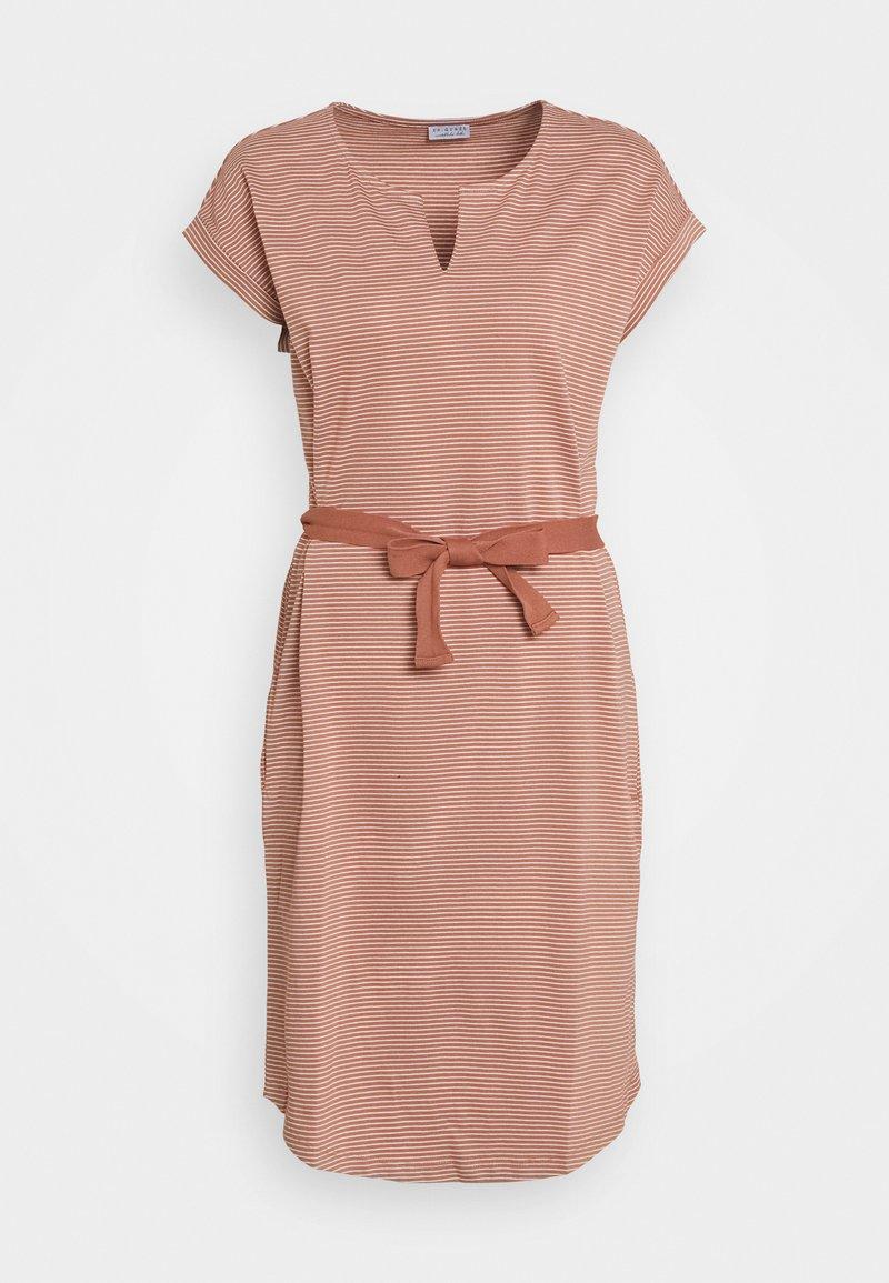 Re.draft - EASY DRESS - Jerseyjurk - tuscany