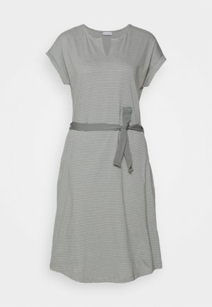 EASY DRESS - Žerzejové šaty - olive khaki