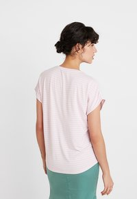 Re.draft - LOOSE STRIPE - T-shirts med print - pink sky - 2