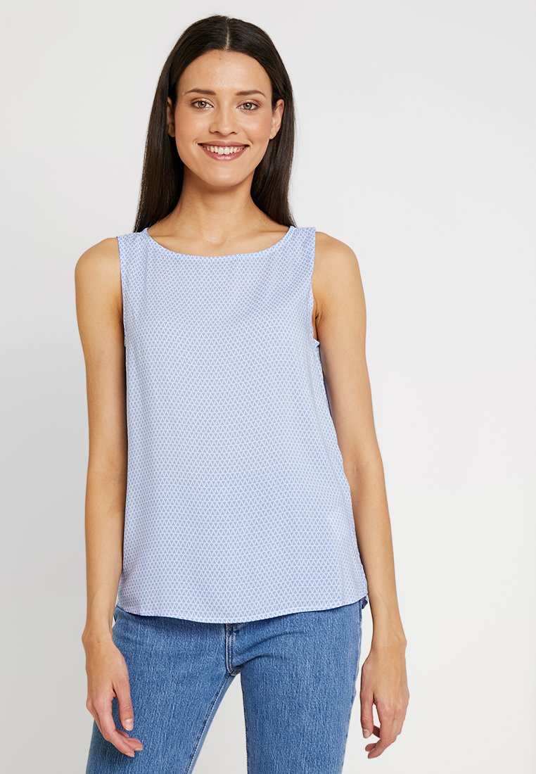 Re.draft - PRINTED - Blusa - marine blue