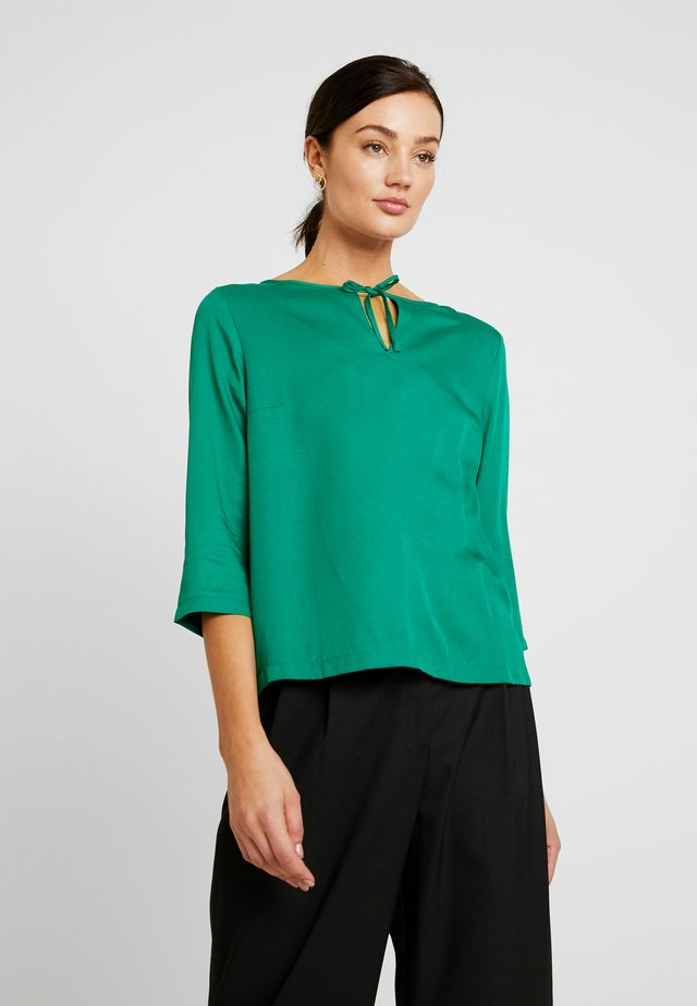 BLOUSE - Blus - cobalt green