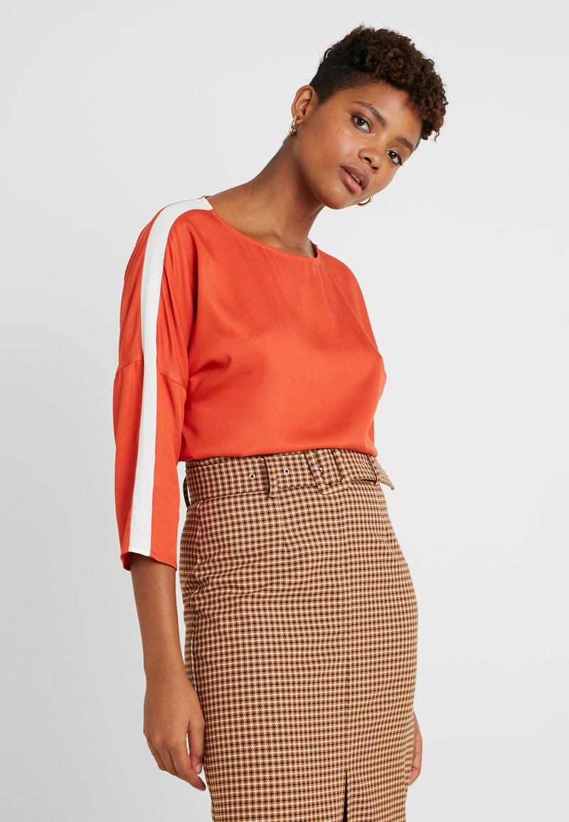 Re.draft - EASY REGLAN BLOUSE - Blouse - tangerine
