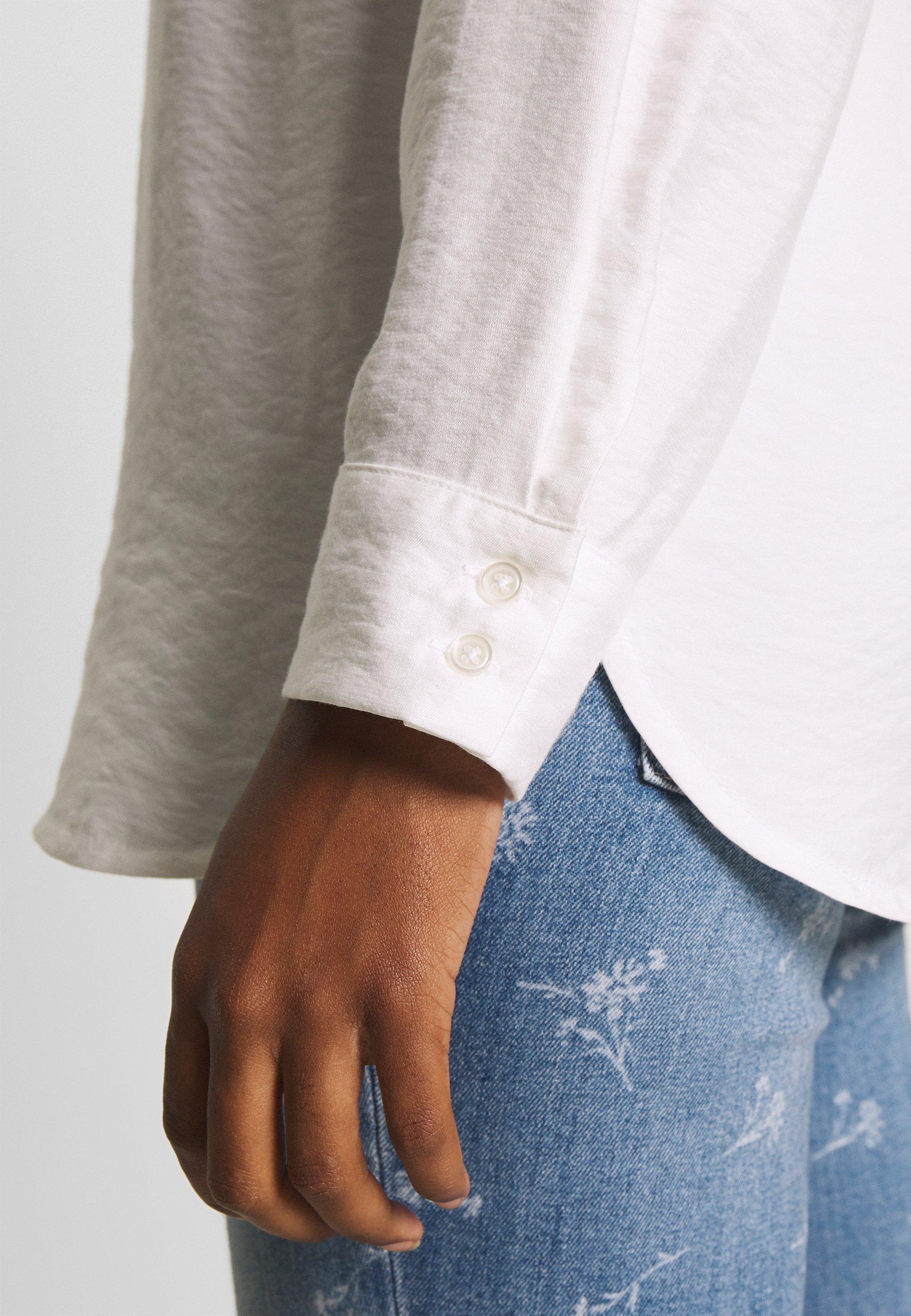 Re.draft CLASSIC BLOUSE - Skjorte - white